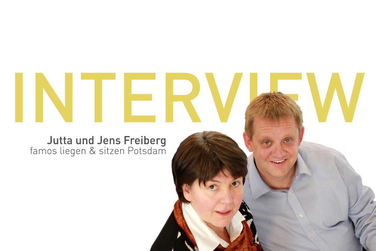 Ergonomiewelt Magazin Interview famos sitzen und liegen Potsdam