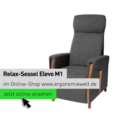 ErgonomieWelt Magazin Blog | Relax-Sessel Elevo M1