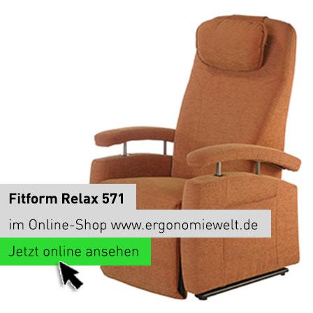 EW Magazin Blog | Fitform Relax-Sessel 571