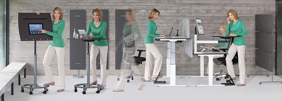 Steh-Sitzdynamik
