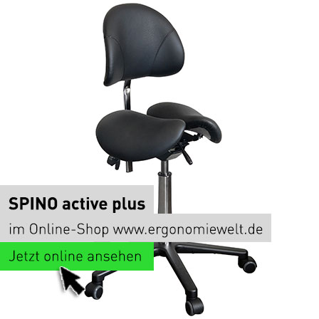 Ergonomiewelt | Spino active Plus Sattelsitz