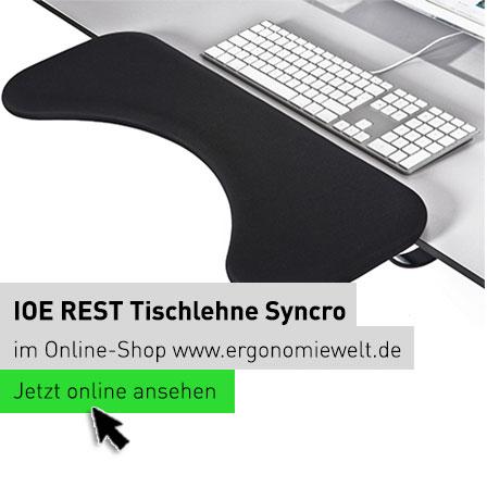 Ergonomiewelt | IOE REST Tischlehne Syncro