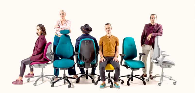 rh Mereo Ergonomischer Bürostuhl Modelle 200, 220 und 300