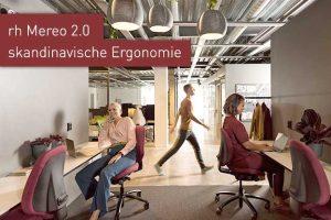 rh Mereo ergonomischer Bürostuhl am Arbeitsplatz Ergonomiewelt