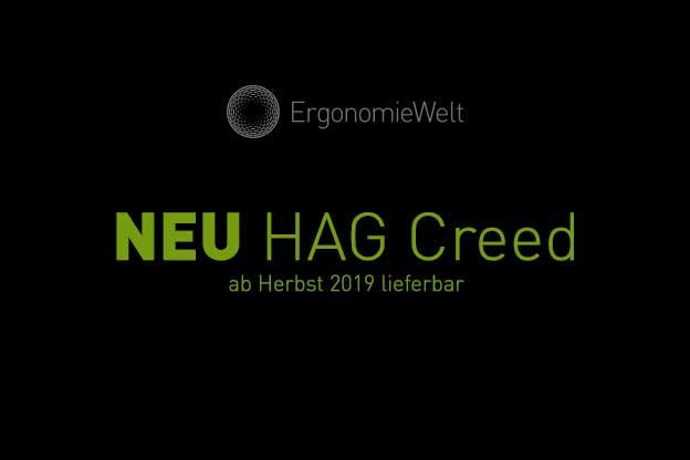 Ergonomiewelt | HÅG Creed - Ab Herbst 2019 Lieferbar