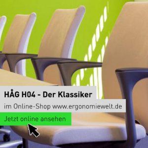 Ergonomiewelt | HÅG H04 - der Klassiker