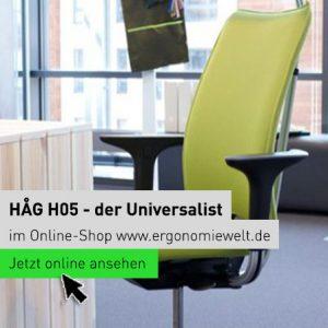 Ergonomiewelt | HÅG H05 - der Universalist