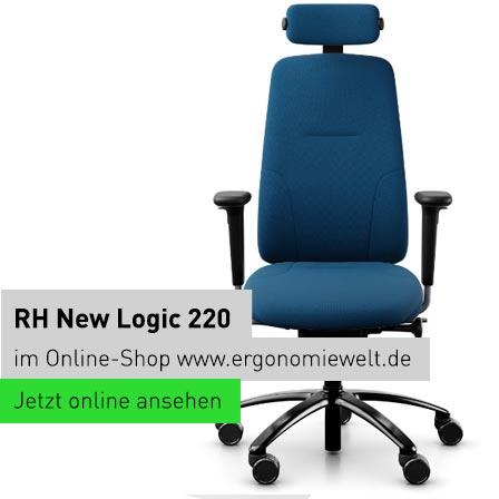 rh nachhaltiger ergonomischer Bürostuhl New Logic 220