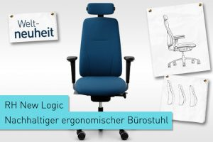 rh nachhaltiger ergonomischer Bürostuhl New Logic