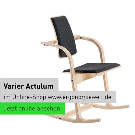"Ergonomiewelt Varier ergonomischer Bürostuhl ""Actulum"""