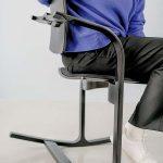 "Varier ergonomischer Stuhl ""Actulum"" schwarz"