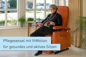 EW Magazin Pflegesessel mit fitmotion