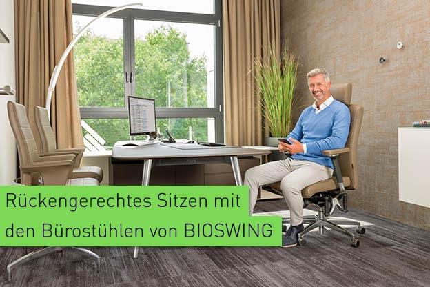 EW Magazin Blog | Ergonomie am Arbeitsplatz mit BIOSWING