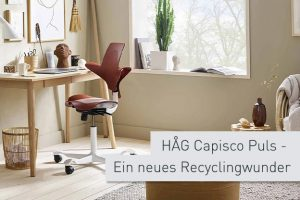 Ergonomiewelt Magazin | HAG Capisco Puls Recycling