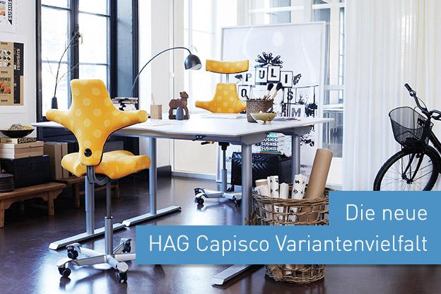 Die Neue HAG Capisco Variantenvielfalt