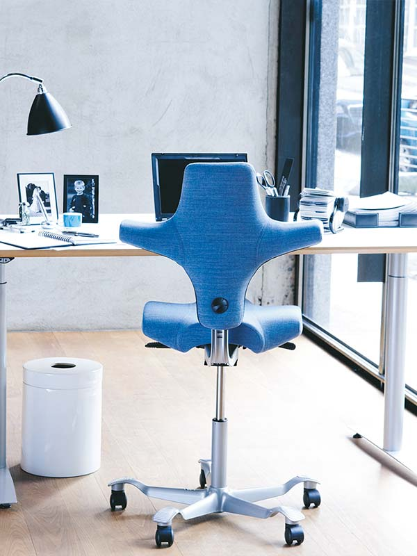 Ergonomiewelt   Capisco home - Blau