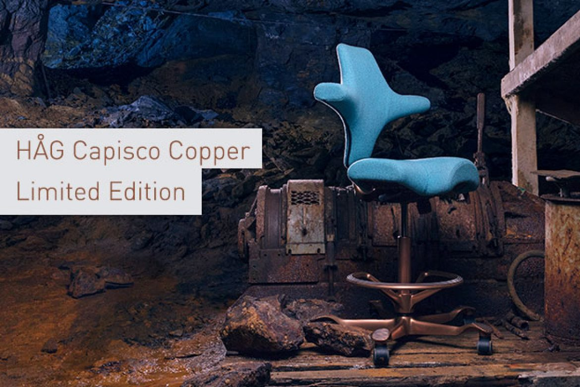 HAG Capisco Copper – der Bürostuhl-Klassiker in einer limited edition