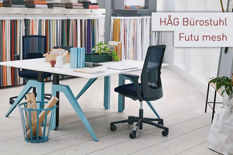 HÅG Futu mesh – ein neuer (Bürostuhl-)Star am Horizont