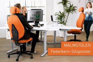 MALMSTOLEN – Bürostühle mit Federkern-Sitzpolster