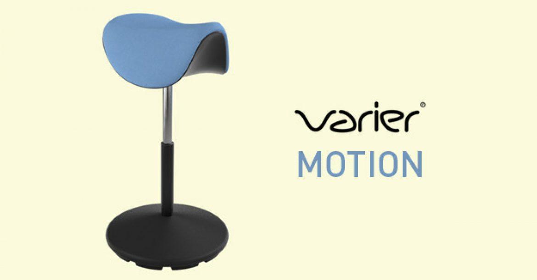 Varier Motion – der neue Sattel-Hocker
